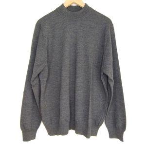 Neiman Marcus Merino Wool Crewneck Sweater